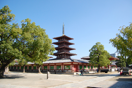 四天王寺写真